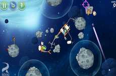 Avian Space Education Apps - NASA's Angry Birds in Space Update Educates on Future Asteroid Missions