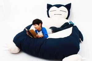This Bed is Designed to Look Like the Sleepy Pokemon Snorlax