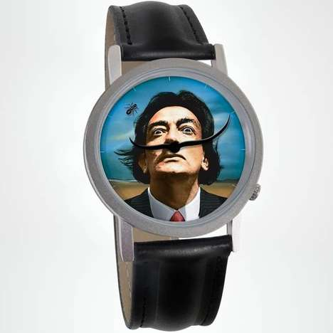 Surreal Artist Watches - These Stylish Watches Celebrate the Famous Artist Salvador Dali