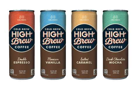 Summery Java Brews - The New High Brew Coffee Flavored Ice Coffee Line is Delicious