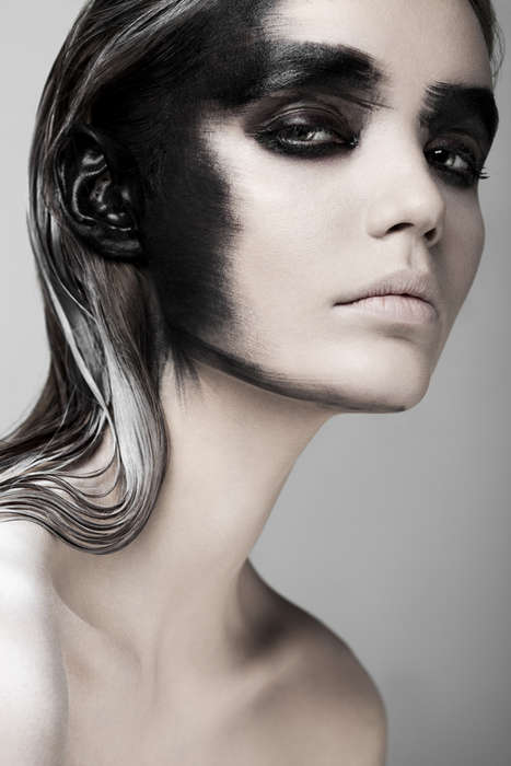 Fantastically Dark Beauty - Fears by Weronika Kosinska Stars Model Paulina Szczepkowska