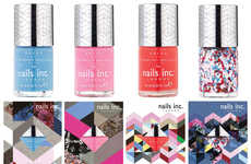 Runway-Inspired Nail Polishes - The New Nails Inc. Collection Sources from Preen's Summer Catwalk