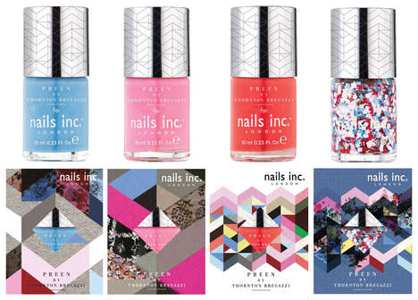 Runway-Inspired Nail Polishes - The New Nails Inc. Collection Sources from Preen
