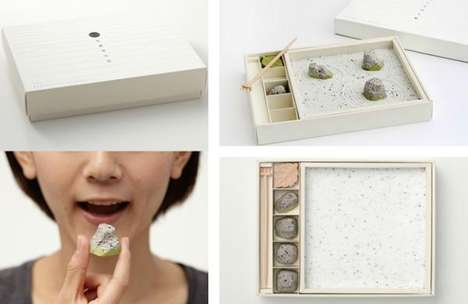 Edible Rock Gardens - Designer Tomonori Siato Creates Zen Gardens That You Can Eat