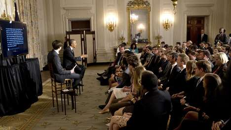Interactive Presidential Chats - The President Obama Chat Engaged Young College Students on Tumblr