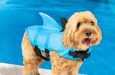 The Sea Squirts Dog Lifejackets Make Your Puppy Look Like a Shark