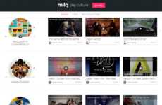 Internet Content Curation Sites - Milq is a Community Where Users Can Organize Web Finds