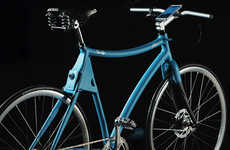 Smartphone-Ready Bikes - The Samsung Smart Bike Comes with Extra Safety Features