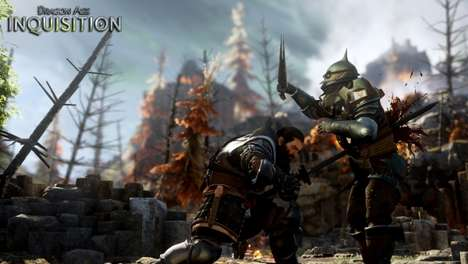 Epic Adventure Games (UPDATE) - The Dragon Age: Inquisition E3 Stage Show Revealed Gameplay