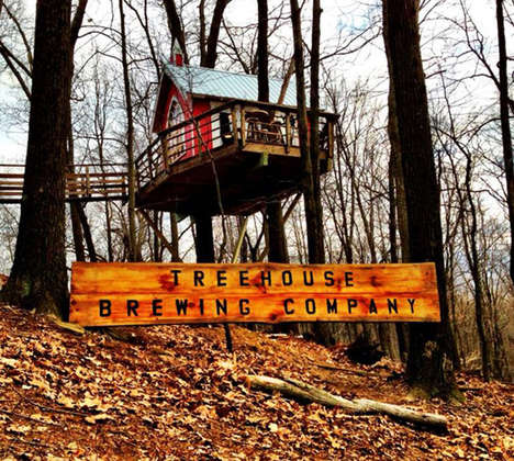 Treehouse Breweries - The Tree House Brewery Caters to an Adult Drinker