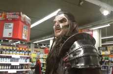 Orc Supermarket Pranks - This Grocery Store Prank Takes an Orc to Fill a Shopping Basket