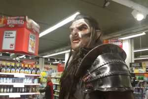 This Grocery Store Prank Takes an Orc to Fill a Shopping Basket