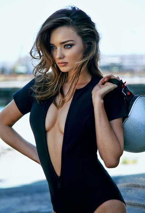 Urban Celeb Editorials - Miranda Kerr Stuns in Latest The Edit Photo Shoot