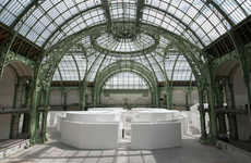 Imaginary City Installations - The Strange City at the Grand Palais has an Air of Mystery