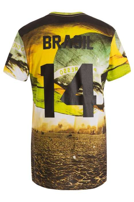 11 World Cup 2014 Jerseys - From Minimalist World Cup Menswear to Fashionably Rebranded Jerseys