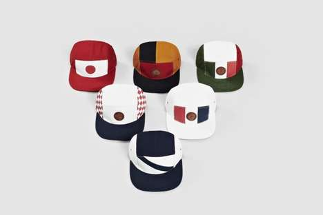 Color Block Soccer Caps - I Love Ugly Released a Collection of World Cup Hats