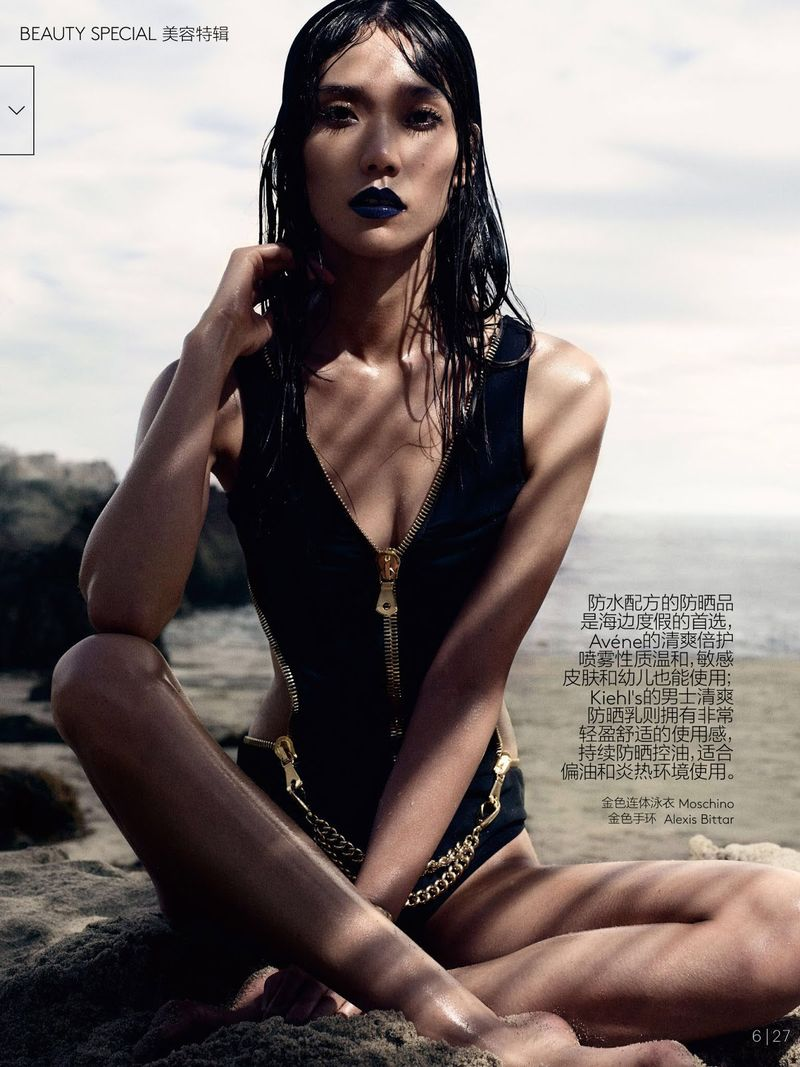 Drenched Swimwear Editorials