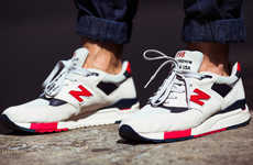 Patriotic Platform Kicks - J.Crew & New Balance Created a Pair of Independence Day Sneakers