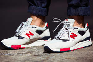 J.Crew & New Balance Created a Pair of Independence Day Sneakers