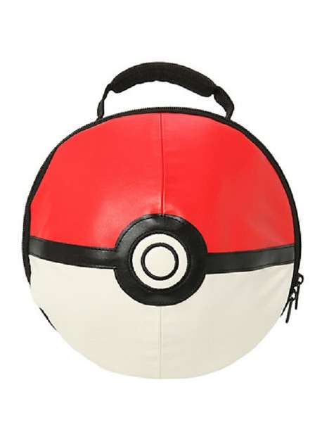 Anime Ball Bags - These Poke Ball Lunch Bags are Perfect for a Pokemon Trainer