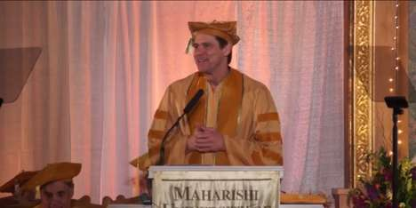 Spiritual Life Lessons - The Touching Jim Carrey Commencement Speech Discusses Doing What You Love