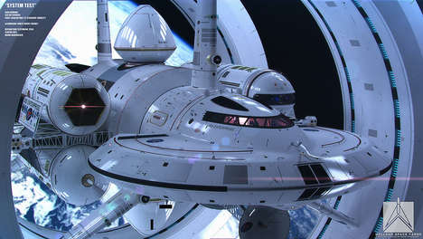 Futuristic Starship Designs - Physicist Harold White is Working on the IXS Enterprise