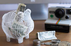 3D Printed Piggy Banks - The Oinky Whimsical Piggy Bank is an Update on a Classic Design