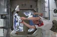 Space Station Soccer Matches - Astronauts Play Football in Zero Gravity to Celebrate World Cup