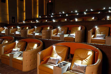 23 Movie Theatre Design Ideas - From Levitating Circular Cinemas to Interactive Movie Theatres
