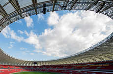 Soccer Stadium Photography