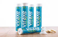 Travel Energy Tablets - Viraxe's Energy Pills Are Compact and Dissolve in Water for Instant Energy