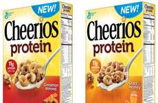 Nutrient-Focused Cereals - Cheerios' Protein Breakfast Cereal is Loaded with 11g of Protein
