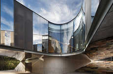 Curvilinear Mirrored Architecture