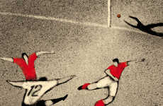 World Cup History Illustrations - Davide Bonazzi's Series is Extensive and Educational