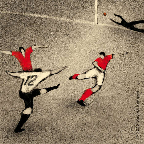 World Cup History Illustrations - Davide Bonazzi