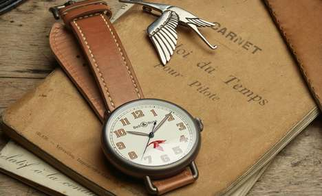 Vintage Aviation Watches - This Bell & Ross WWI Guynemr Watch Makes for a Special Father