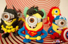Superhero Minion Confectioneries - These Delicious Despicable Me Treats Look Like the Yellow Minions
