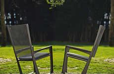 Deceptive Rocking Chairs - Cornelia by Giorgio Cattelan is Sleek and Modern