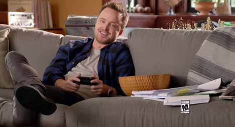 Console Commanding Commercials - Aaron Paul is Launching People