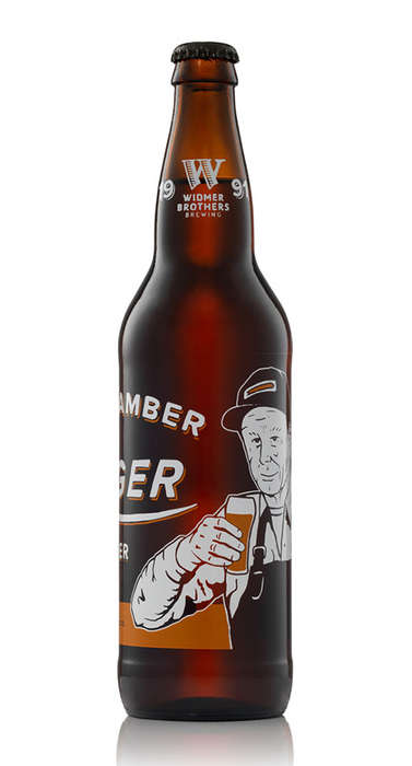Nostalgic Beer Branding - Widmer Brothers Takes on an Aged Painter Look