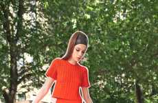 Paper Doll Lookbooks - Tanya Taylor's Resort Collection Lookbook Features Paper Doll Models