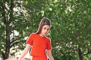 Tanya Taylor's Resort Collection Lookbook Features Paper Doll Models