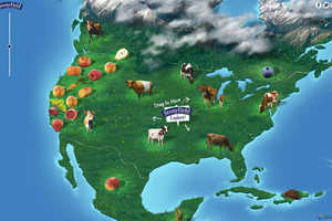 Stonyfield's Sourcing Map Shows Where Every Ingredient Comes From