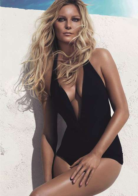 Bronzed Actress Hair Ads - The L'Oreal Professionnel Beach Waves Campaign Stars Kirsten Dunst