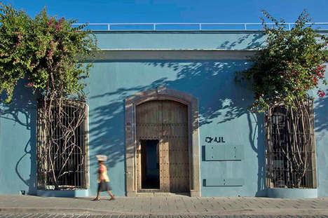 Contemporary Cultural Retreats - This Mexican-Inspired Hotel is Authentic and Charming