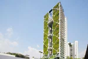 Tree House Singapore Set the World Record for Largest Vertical Garden