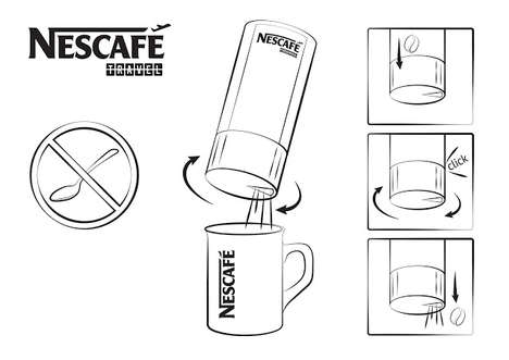 Travel Coffee Packaging - This Nescafe Travel Coffee Concept Makes Coffee on the Go Easy