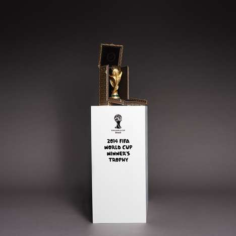 Luxurious Soccer Memorabilia - Louis Vuitton Designs a Monogram  2014 World Cup Trophy Case