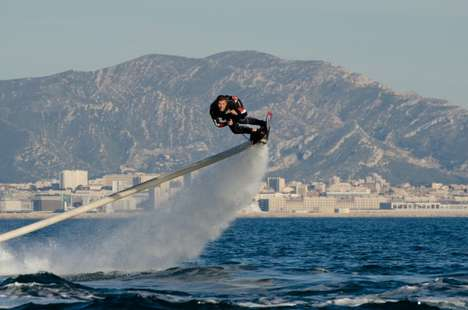 Aqua Air Surfboards - The Hoverboard Has Been Designed By Jet Ski Champion Zapato