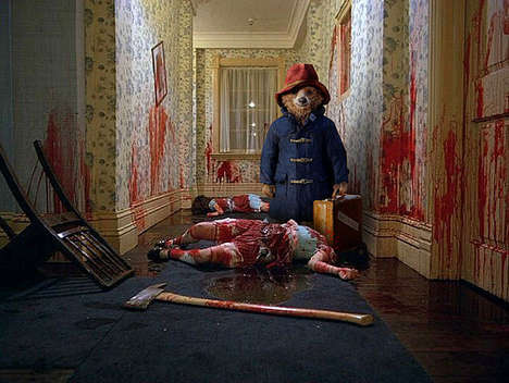 Creepy Killer Memes - A New Paddington Bear Meme Features Him in Horror Films